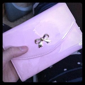Forever 21 light pink wallet